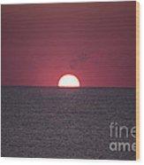 Perfect Sunrise Wood Print by Nelson Watkins
