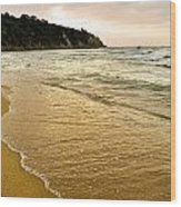Perfect Sunset Beach Wood Print
