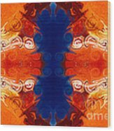 Perfectly Balanced Philosophies Abstract Pattern Art By Omaste Witkowski Wood Print