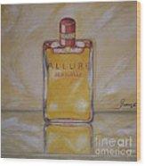 Perfume-allure Wood Print