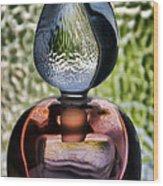 Perfume Bottle 1 Wood Print