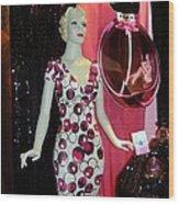 Perfume Girl Wood Print