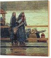 Perils Of The Sea 1881 Wood Print