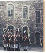 Period Soldiers Wood Print by Joana Kruse