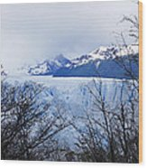 Perito Moreno Glacial Landscape Wood Print