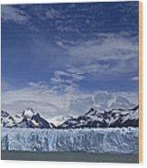 Perito Moreno Glacier And The Andes Wood Print