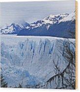 Perito Moreno Glacier Wood Print