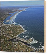 Perkins Cove, Ogunquit Beach, Ogunquit Wood Print