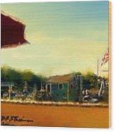 Perkin's Cove - Ogunquit Me - Number 5 Wood Print