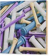 Perm Rods 5 Wood Print