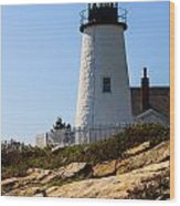 Permaquid Point Lighthouse Wood Print