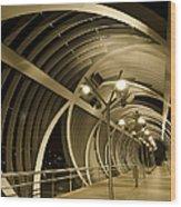 Perrault Bridge Wood Print