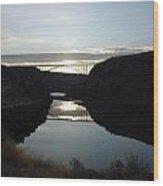 Perrine Bridge Sunrise Wood Print