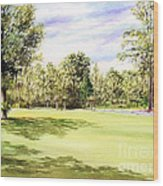 Perry Golf Course Florida  Wood Print