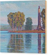 Perry Monument Wood Print