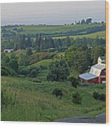 Perryville July Wood Print