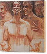 Persecution Wood Print