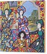 Persian Afternoon Wood Print