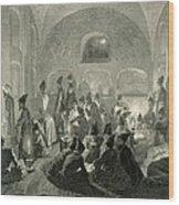 Persian Mosque At Yerevan, Armenia Wood Print