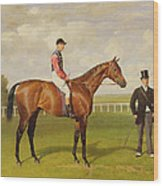 Persimmon Winner Of The 1896 Derby Wood Print by Emil Adam
