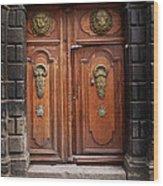 Peruvian Door Decor 10 Wood Print