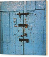 Peruvian Door Decor 8 Wood Print
