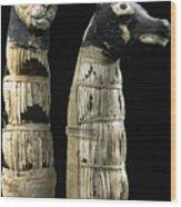 Pet Mummies, 1st Century Wood Print