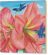 Petal Passion Wood Print