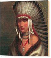 Petalesharro. Generous Chief  Pawnee Wood Print