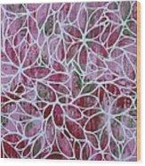 Petals In Pink Wood Print