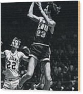Pete Maravich Fade Away Wood Print by Retro Images Archive