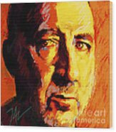 Pete Towsend Wood Print