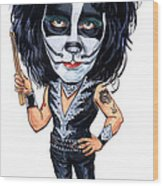 Peter Criss Wood Print