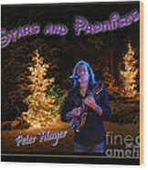 Peter Mayer Stars And Promises Christmas Tour Wood Print