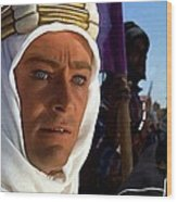 Peter Otoole And Omar Sharif In Lawrence Of Arabia Wood Print