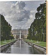 Peterhof Fountains Wood Print
