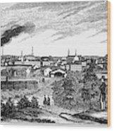 Petersburg, Virginia, 1856 Wood Print
