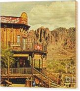 Petersons Mercantile  Wood Print