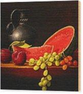 Petite Watermelon Wood Print