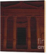 Petra A Light Wood Print