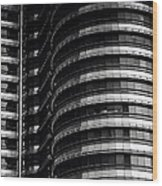 Petronas Detail Wood Print