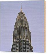 Petronas Pinnacle Wood Print