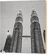 Petronas Towers Wood Print