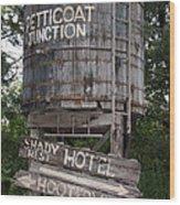Petticoat Junction Wood Print