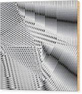 Phalanx 30 Shatter Wood Print
