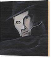 Phantom Wood Print