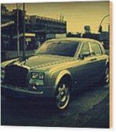 Rolls Royce Phantom Wood Print