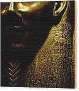Pharaohs Curse Wood Print