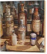 Pharmacist - Digestable Wood Print