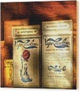 Pharmacist - Medical Cures Wood Print